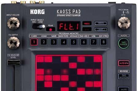 Music Thing: Korg's Kaoss Pad 3