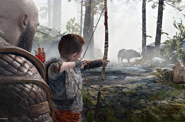 'God of War' New Game+ makes for difficult parenting