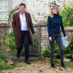 Dominic West and wife Catherine FitzGerald declare they are 'still together' in joint note after Lily James photos