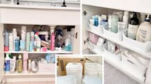 Kmart $5 buy solves bathroom storage chaos: 'Awesome'