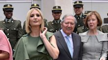 Stiff Breeze Turns Ivanka Trump's Dress Into Fodder For Fashion Police