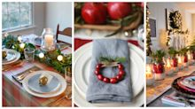50 Best Christmas Table Decorations for Your Holiday Dinner Parties