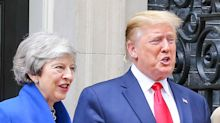 Trump brands UK ambassador 'very stupid guy' as Theresa May gives Darroch 'full support'