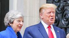 Trump brands UK ambassador 'very stupid guy' as Theresa May gives Darroch 'full support'