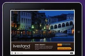 Yahoo! announces Livestand for iPad, available first half 2011