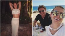 Christian Wilkins leads the glamour as Karl and Jasmine's wedding guests party in Mexico