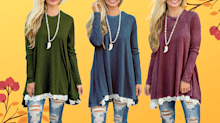 'I bought 3 total!': This $24 tunic is the perfect top for fall