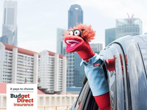 Consumer research shows Budget Direct's Singlish-speaking sock puppet gets Singapore's vote