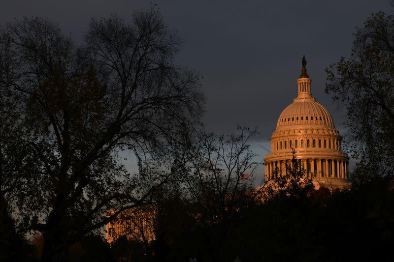 U.S. Senate passes bill funding government through December 11, sends to Trump
