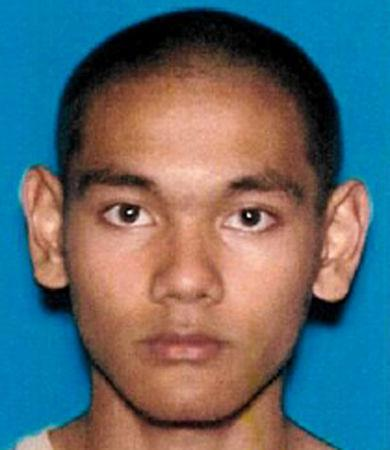 Mark Steven Domingo, 26, a U.S. veteran of the war in Afghanistan, charged in a federal criminal complaint with providing and attempting to provide material support to terrorists, is seen in this DMV photo released by FBI in Los Angeles, California, U.S., April 29, 2019. Courtesy FBI/Handout via REUTERS