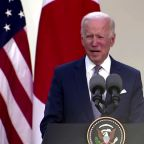Gun deaths 'national embarrassment' -Biden