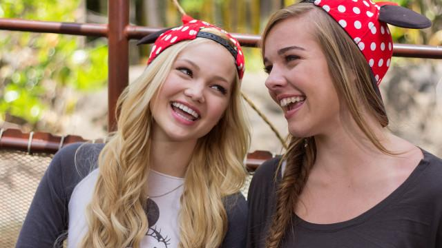 Besties - Olivia Holt and Her Bestie Gracie Benward Have an Awesome Disneyland