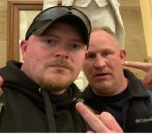 A police officer arrested after the pro-Trump assault on the Capitol is also a current member of the US military