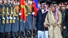 Saudi king makes historic visit to Russia