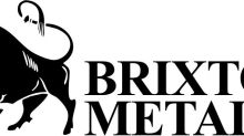 Brixton Metals Announces Grant of Stock Options