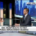 Eric Trump: Democrats trying to sweep dossier under the rug with impeachment inquiry