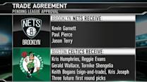 Garnett, Pierce, Terry Traded to Brooklyn