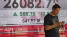 Asia shares reap big gains following rebound on Wall Street