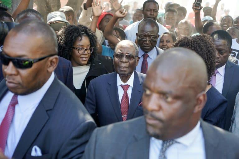 Mugabe still in Singapore hospital since April: president