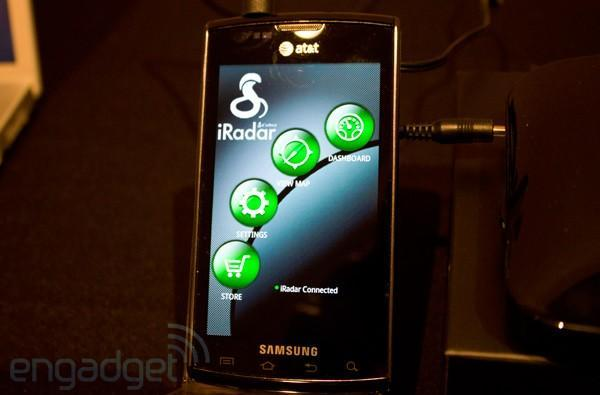 Cobra iRadar detection system for Android hands-on