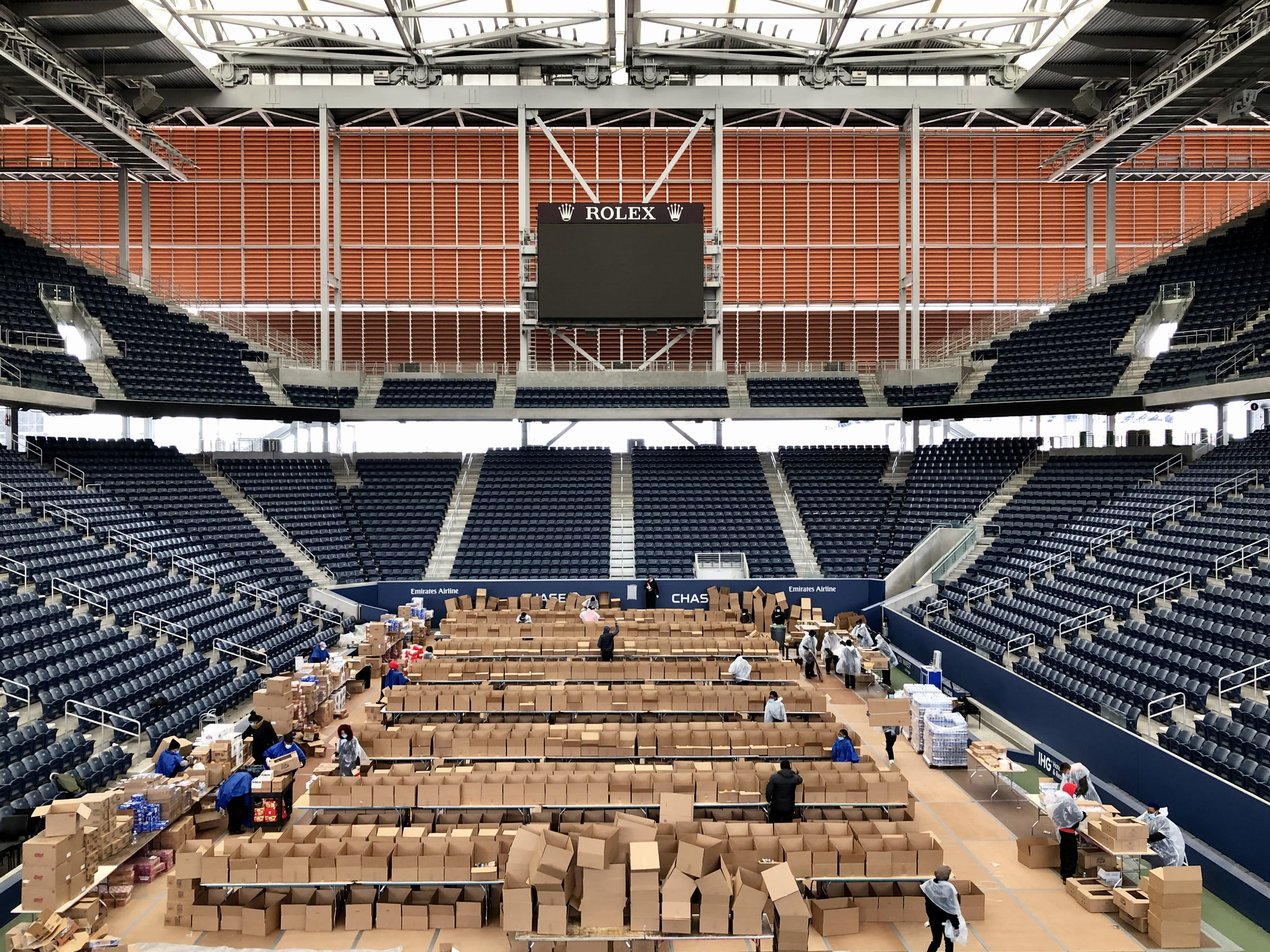 Why the US Open tennis complex is being converted into a coronavirus hospital