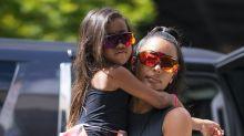 Should Kim Kardashian be straightening five-year-old North's hair?