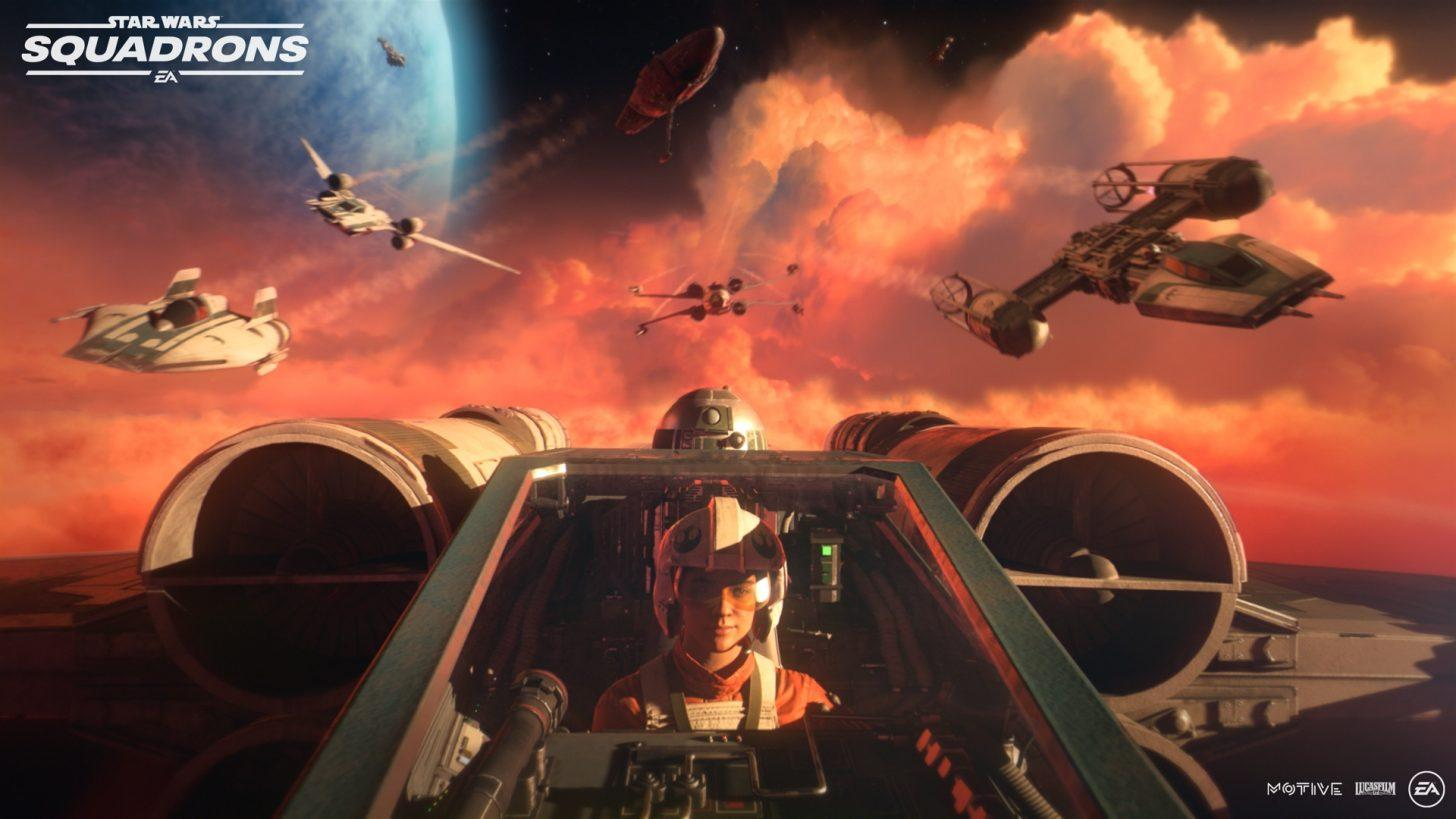 Star Wars: Squadrons Revealed with Platform Cross-Play & VR-Capable Dogfighting