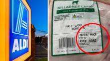 Bizarre reason Aldi shopper only paid 82c for lamb roast