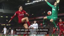 FUTEBOL: Premier League: Psicólogo esportivo destaca Liverpool como 'exemplo do futebol moderno'