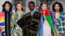 Rainbow pride, mad plaid, and cheeky slogans: 4 top trends from London Fashion Week
