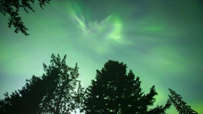 The Northern lights could be visible this weekend