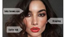 Lily Aldridge Gives Us Holiday Beauty Inspiration That's Not Boring