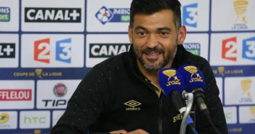 Foot - L1 - Nantes - Sergio Conceiçao (Nantes) présente ses excuses aux journalistes