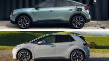 Electric family cars test: Volkswagen ID.3 vs Citroen e-C4