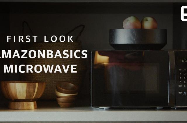 Amazon's Alexa-powered microwave is pretty unnecessary