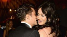 Katy Perry and Orlando Bloom Get Their Flirt On at Golden Globes Afterparty