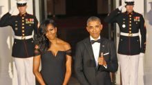 Michelle Obama Wears Chinese-American Designer Vera Wang to State Dinner