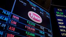 EARNINGS: Tyson Foods stock drops into support after earnings miss