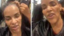Fotos de Flordelis sem peruca e calva viralizam nas redes sociais