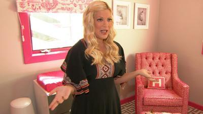 Inside Tori Spelling And Dean McDermott's New Baby Girl's Nursery