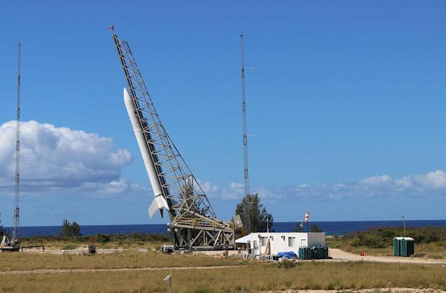 Cheap satellite-launching rocket fails on its maiden flight