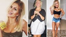 Blogger's shocking photos of how alcohol changed her body