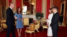 Herzogin Kate verzaubert erneut in einem blauen Kleid - hier gibt es preiswerte Dupes