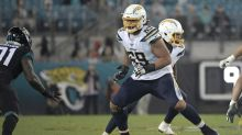 Sam Tevi 'in the driver's seat' for the Chargers' starting left tackle job