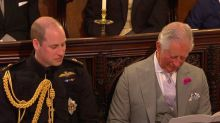 Twitter thinks Prince Charles fell asleep during the royal wedding and is crying with laughter