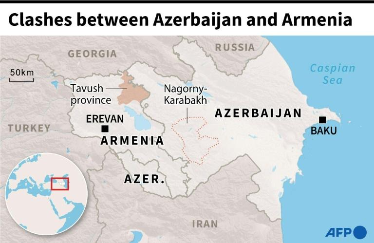 Clashes on Armenia-Azerbaijan border
