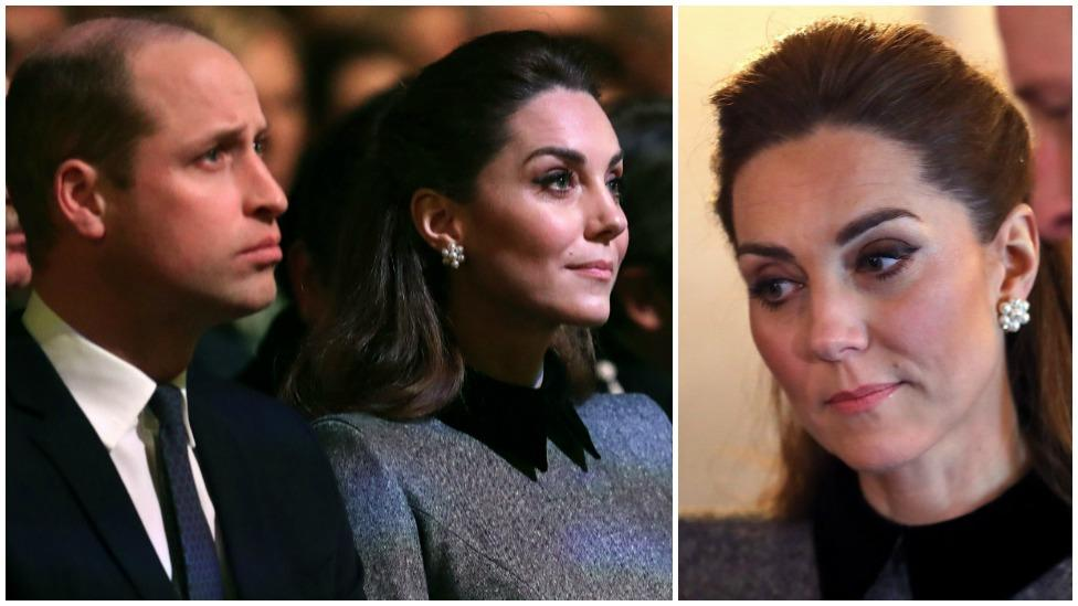 Kate Middleton holds back tears at royal event with Prince William