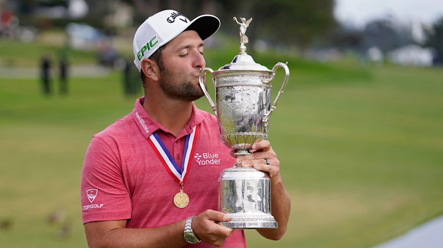 'Power of positive thinking' behind US Open success, Jon Rahm says