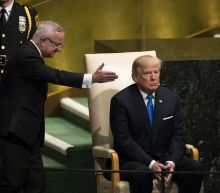 World leaders' faces react to Trump's U.N. speech