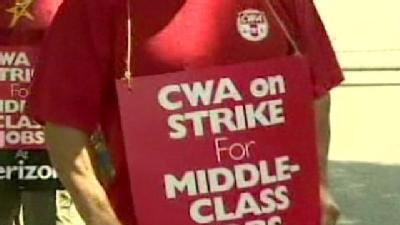 Maryland Verizon Workers Join National Picket Line